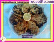 Potato pancakes with tuna