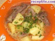 Chicken stew with potatoes