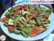 recipe photo 3 Salad of roasted vegetables on BBQ