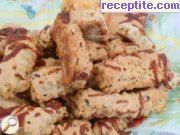 Savory cookies with spices