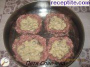 recipe photo 2 Nests of mince and rice stuffing