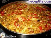 recipe photo 2 Paella with chicken and seafood