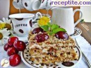Layered cake muesli of sladka hapka