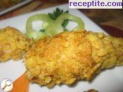 recipe photo 1 Chicken fillets with cornflakes oven