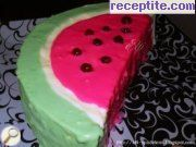 Layered cake Watermelon