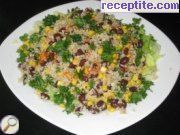 Salad with quinoa - II type