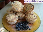 Muffins with blueberries - III type