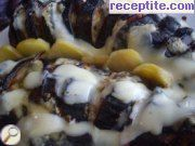 Roasted eggplant in the oven