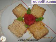 recipe photo 1 Breaded cheese with sesame