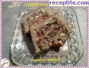Bakery roll with minced meat