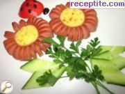 recipe photo 7 Daisies of skinless sausages