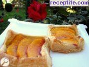 Fruit pastes puff pastry