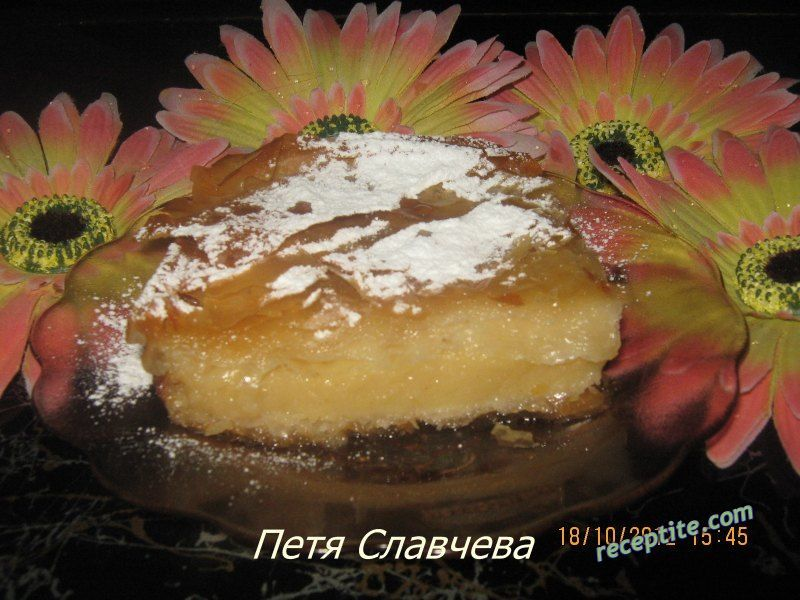 Снимки към Гръцки сладкиш Галактобуреко