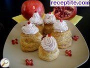 Baskets of puff pastry