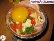 recipe photo 1 Eggs in a basket of bacon