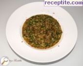 recipe photo 1 Minced meat with rice, spinach and cream
