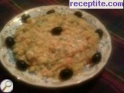 Vegetable mix with cream