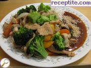 recipe photo 1 Chicken with rice and vegetables in Chinese style - II type