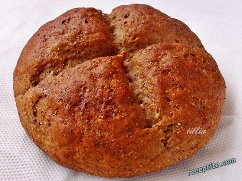 Снимки към Хляб с различни брашна