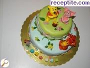 снимка 7 към рецепта Торта Щастие