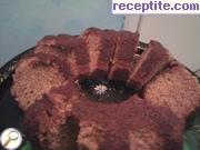 Sponge cake with vinegar and pepper