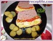 Terrine with mince and potatoes
