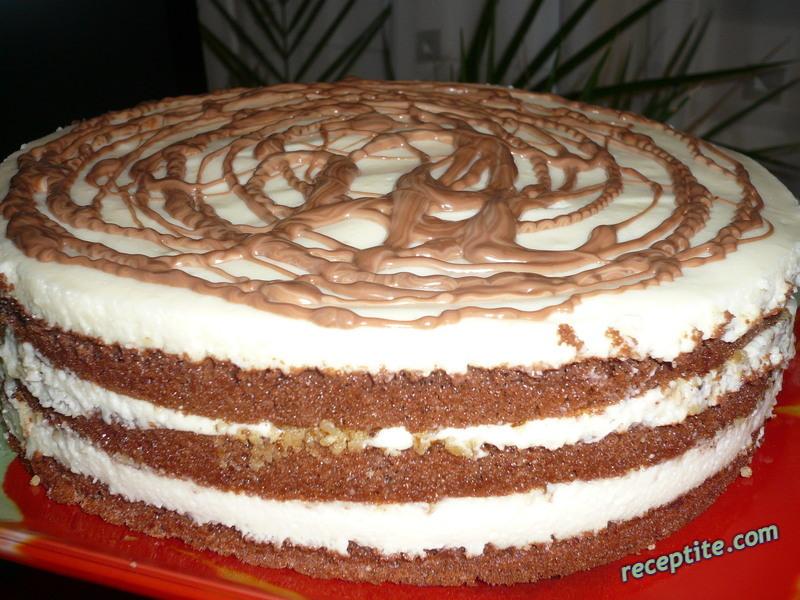 Снимки към Пандишпанова торта