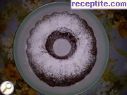 Chocolate sponge cake with Coca-Cola