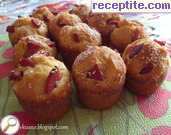 Muffins with feta cheese