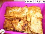 Fried banitsi without eggs