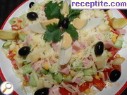 recipe photo 4 Low calorie salad Shepherd
