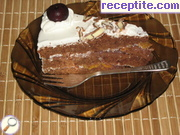 Layered cake Black Forest