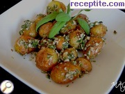 recipe photo 2 Baby potatoes with mint and nuts