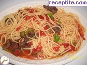 Spaghetti with lamb - II type