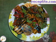 Caramelized vegetables BBQ