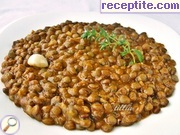 Lentils with vegetables