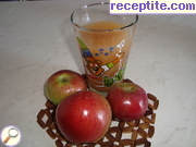 Natural apple juice
