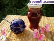 Plum jam with sweetener