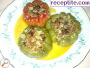 recipe photo 1 Stuffed bell peppers with rice and minced meat