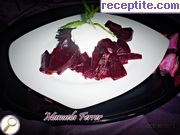 recipe photo 1 Salad with beetroot and cheese