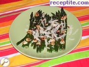 Asparagus with chilli and garlic
