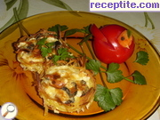Potato nests with stuffing