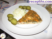 Omelet with vegetable stuffing
