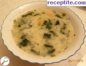 Nettle soup or spinach