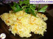 recipe photo 8 Yellow rice Chinese