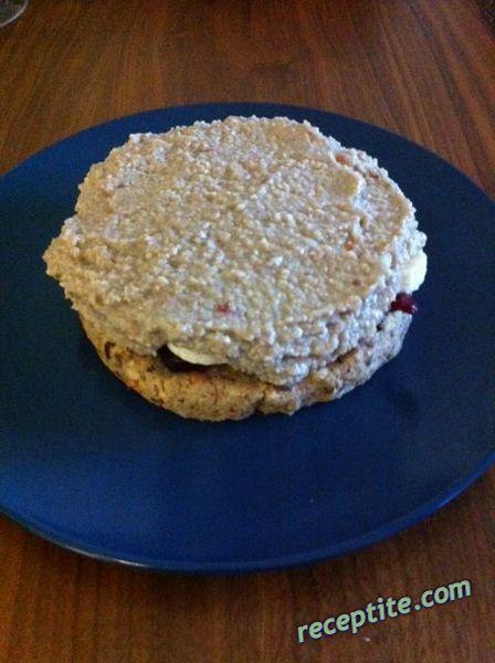 Снимки към Здравословна сурова мини торта с фурми