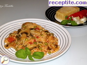 recipe photo 6 Aromatic rice with chicken and mushrooms