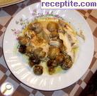 Гювеч с пилешко месо и гъби