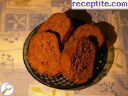 Sponge cake with carrot, ginger and honey