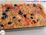 recipe photo 3 Rice with tomatoes and olives in the oven